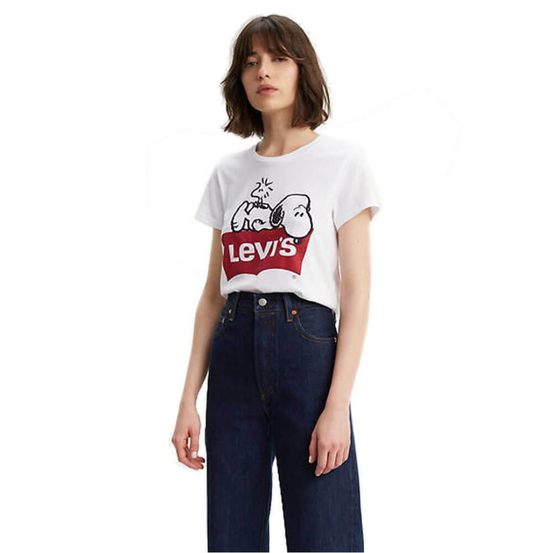 BRAND NEW WITH TAGS- LEVI'S T-SHIRT WOMEN (Peanuts collection)