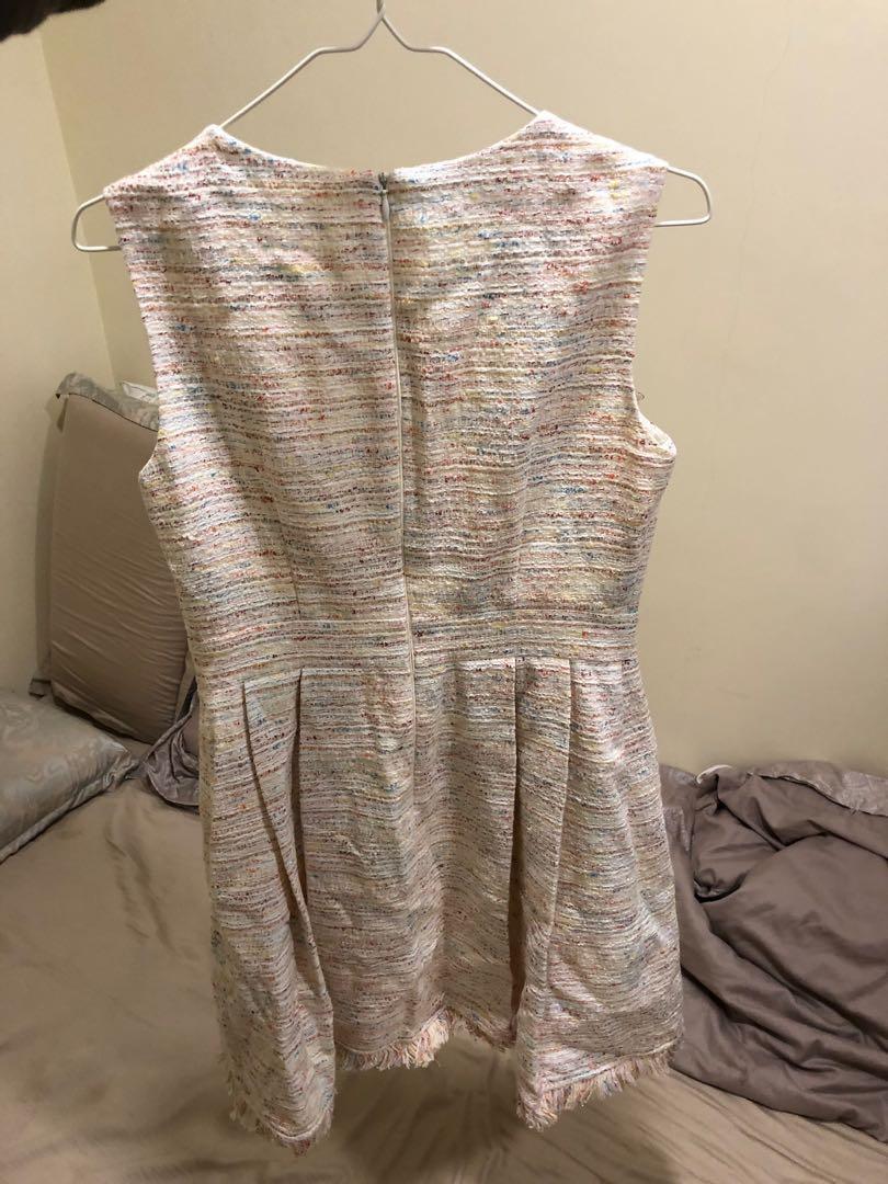 Bread & Butter 女裝 粉紅色 連身花裙 全新未剪牌 0碼 原價1400