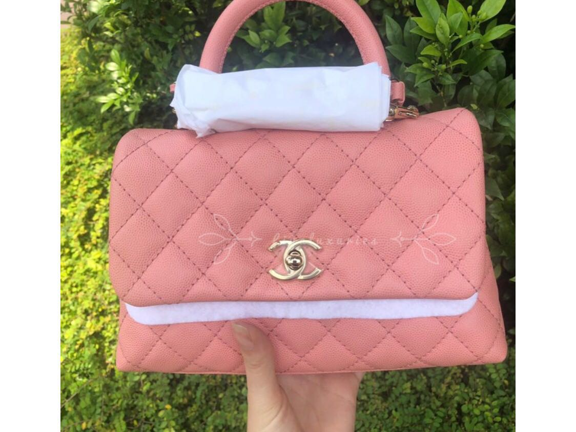 807936913253 Chanel coco handle, Luxury, Bags & Wallets, Handbags on Carousell