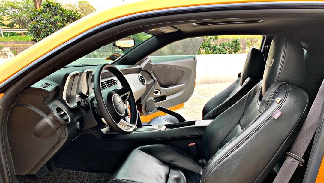 *CHEVROLET CAMARO BUMBLEBEE 3.6CC LEFT SIDE DRIVE (A)*