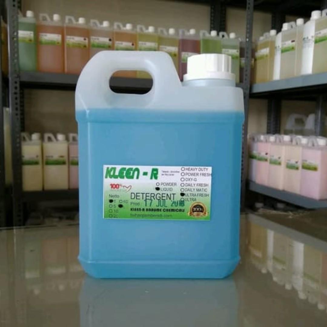 Deterjen Cair Wangi Ultra Fresh Liquid Detergent @1L KLEEN-R HARUME