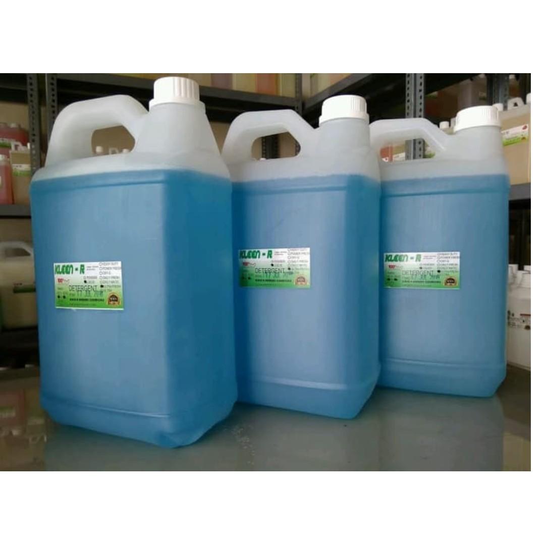 Deterjen Cair Wangi Ultra Fresh Liquid Detergent @5L KLEEN-R HARUME