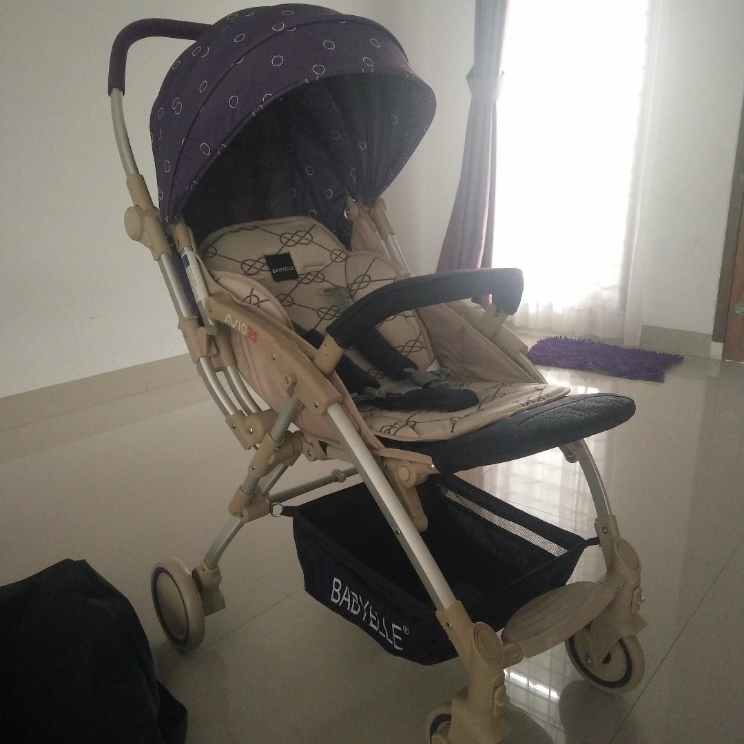 Dijual Stroller BabyElle AVIO RS Very Good Condition like new,