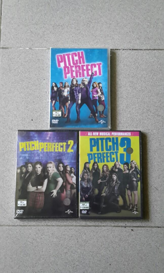 Dvd Pitch Perfect Trilogy