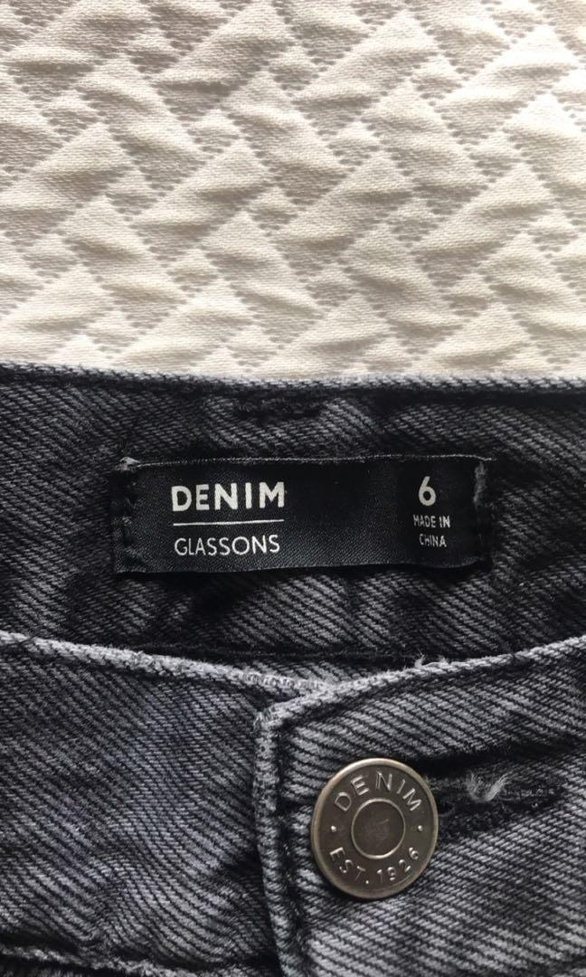 Glassons Denim Skirt #swapnz