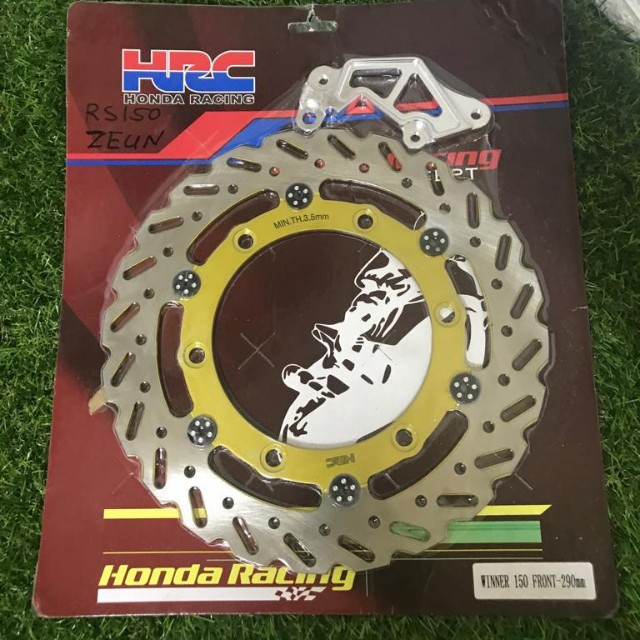 Honda rs150 upgrade rotor come with bracket size 290mm