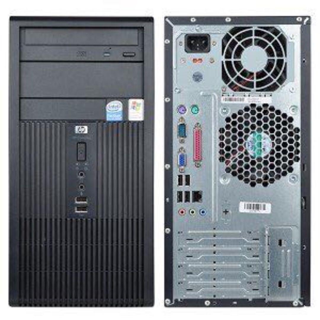 hp compaq dx2300 microtower lan drivers
