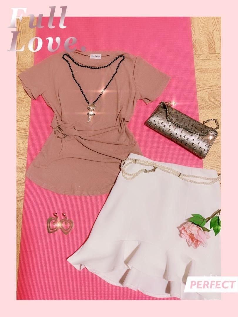 Iced silk waist blouse