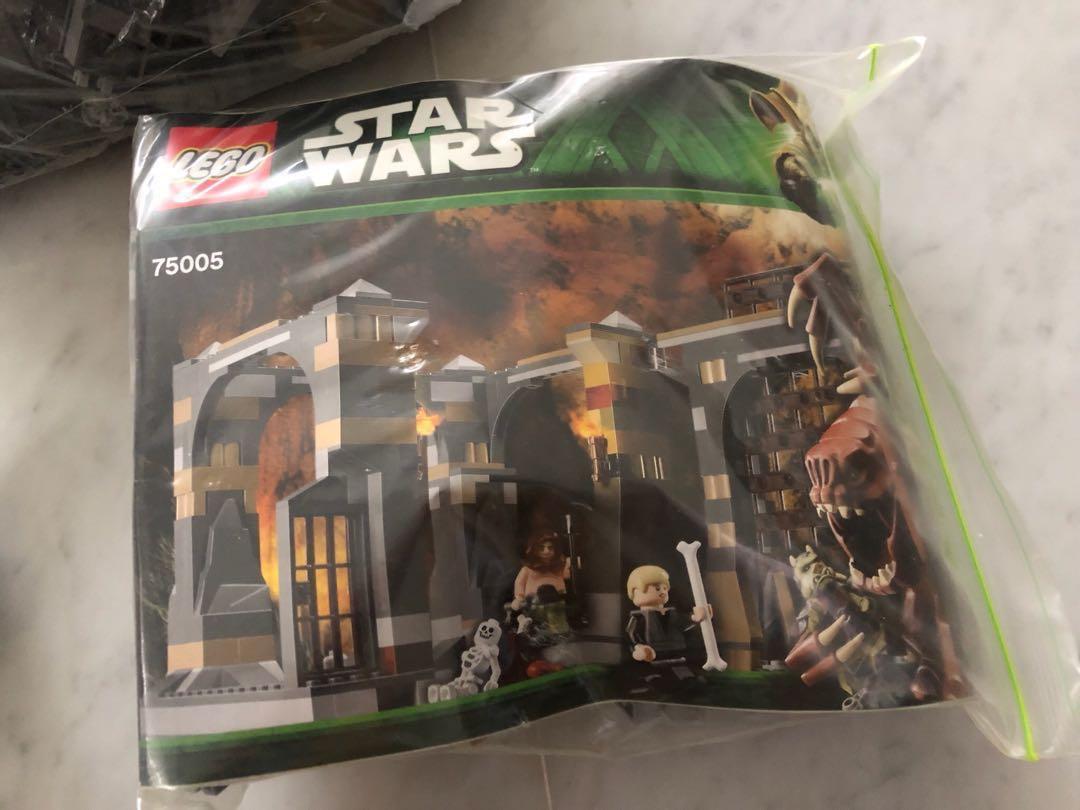 Jabba's Dungeon / Rancor Star Wars Lego set