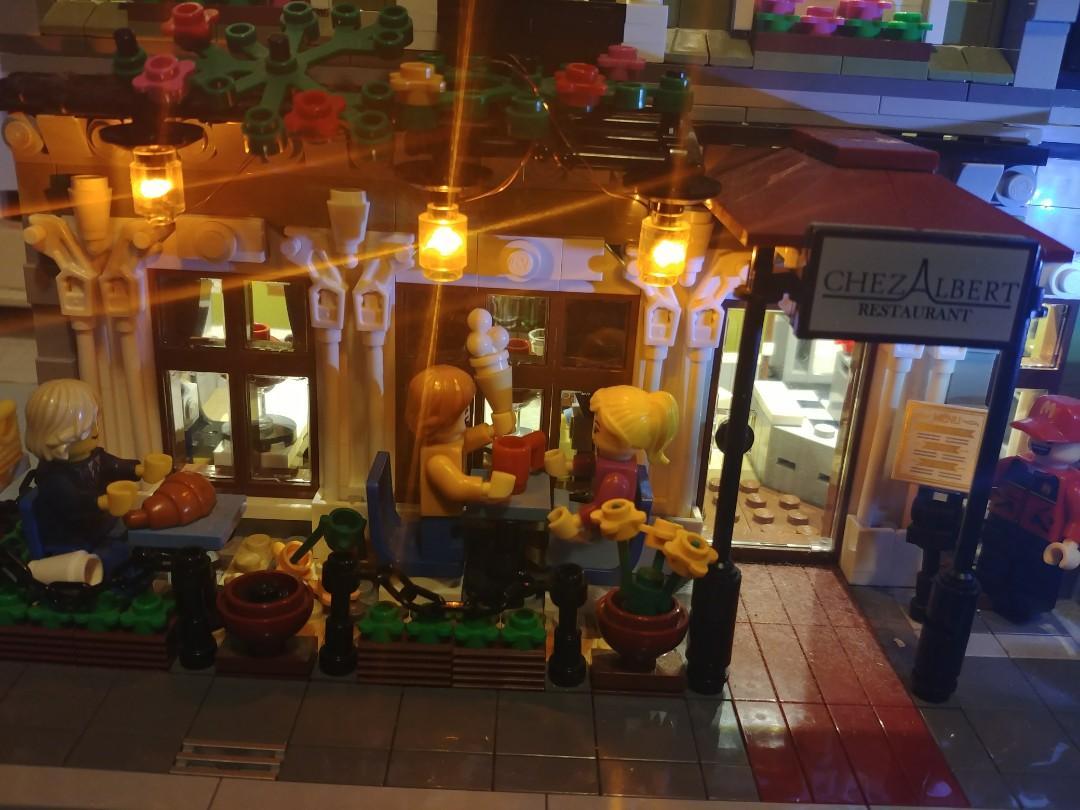 Lego巴黎人餐廳連燈