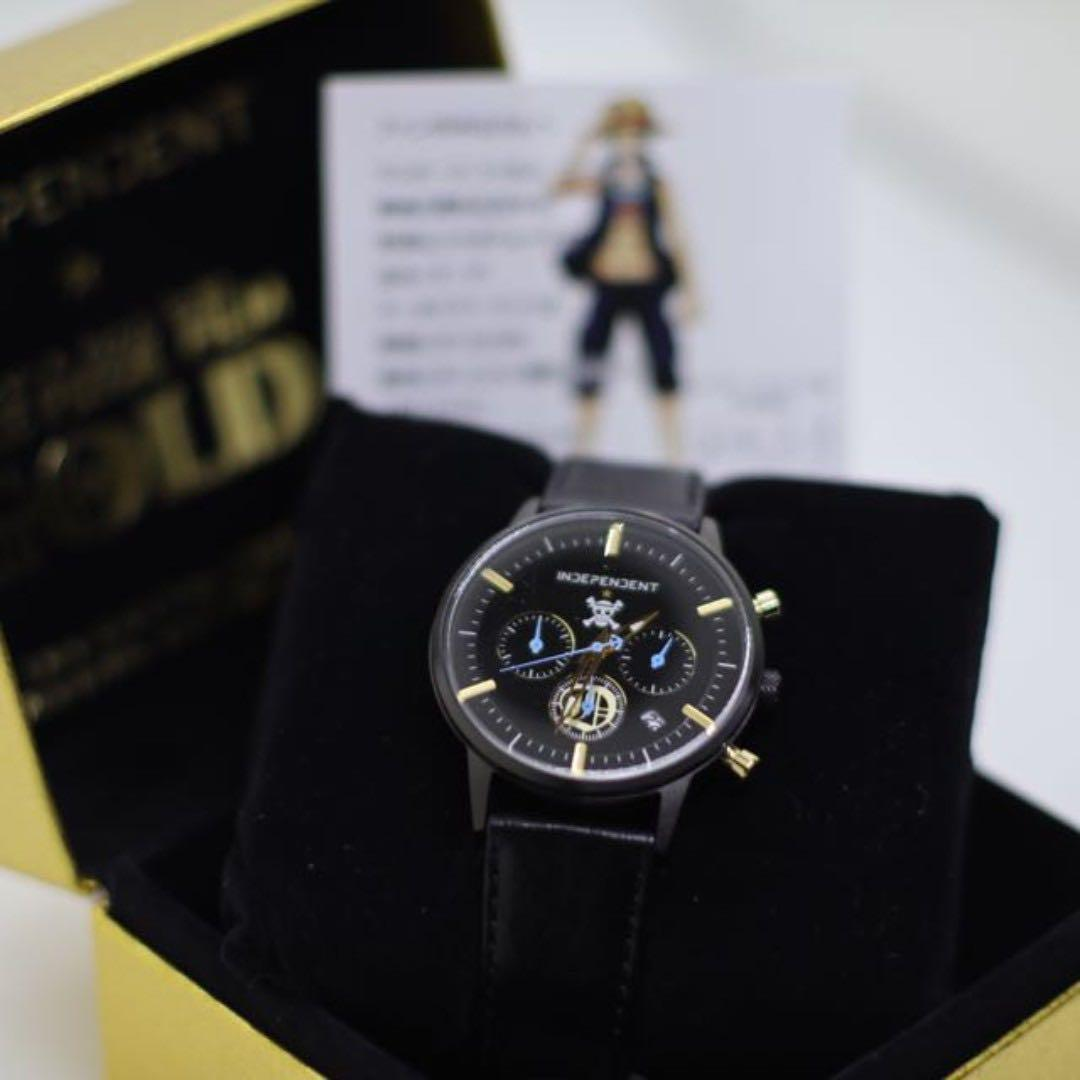 Limited Edition CITIZEN INDEPENDENT One Piece FILM GOLD Special Collaboration Chronograph Watch