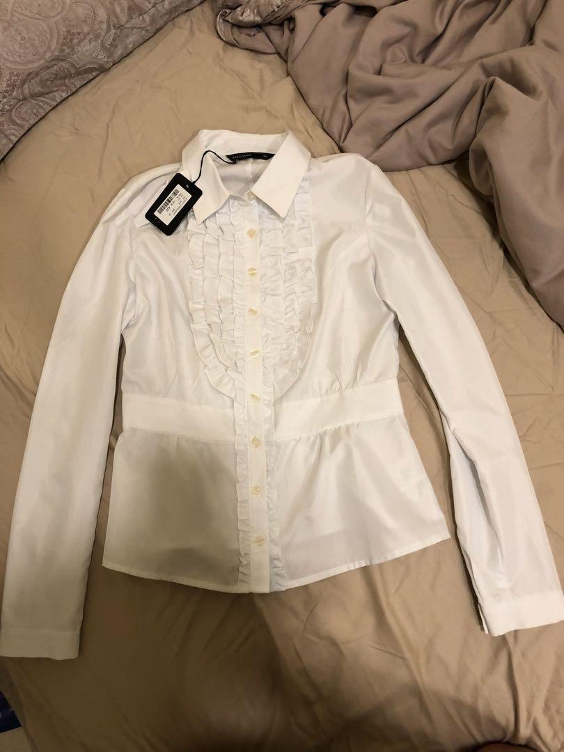 Mastina 女裝 白色 返工 恤衫 34碼 100%全新