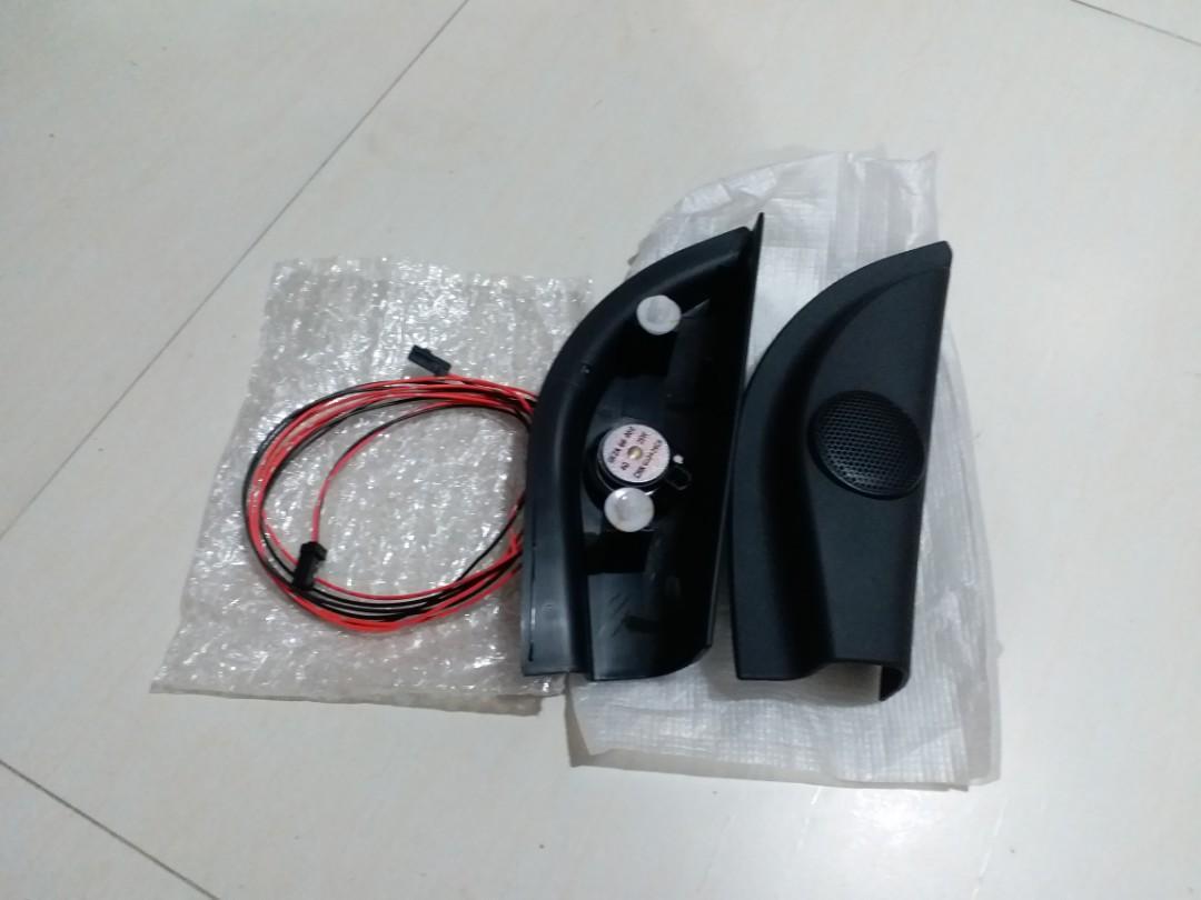 Mazda2 Demio M2 A柱高音喇叭+接駁線