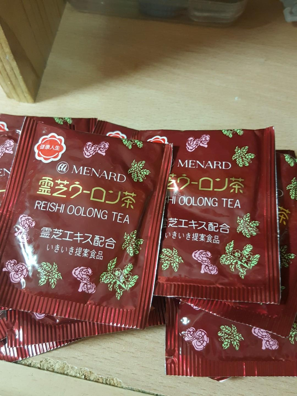 MENARD的Reishi Oolong Tea靈芝烏龍茶