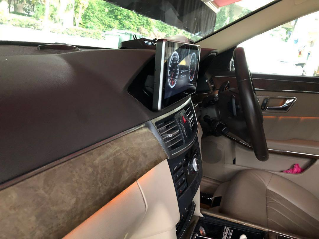 """Mercedes Android W212/w204/w205 E&C / S class 10 25"""", Car"""