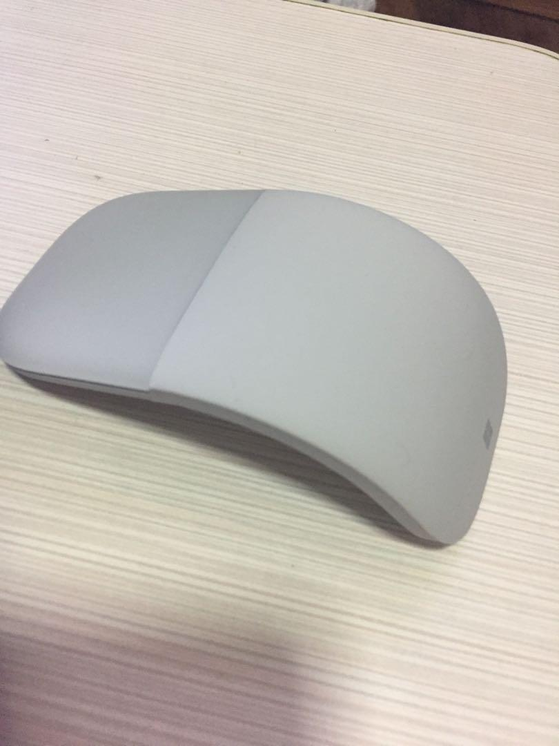 Microsoft Arc Mouse, Electronics, Computer Parts