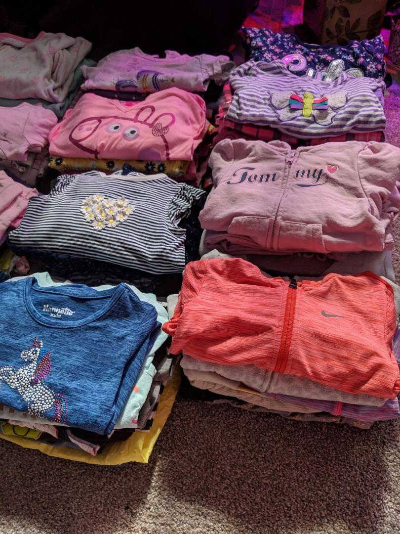 Mixed lot girls clothes 2T and 3T