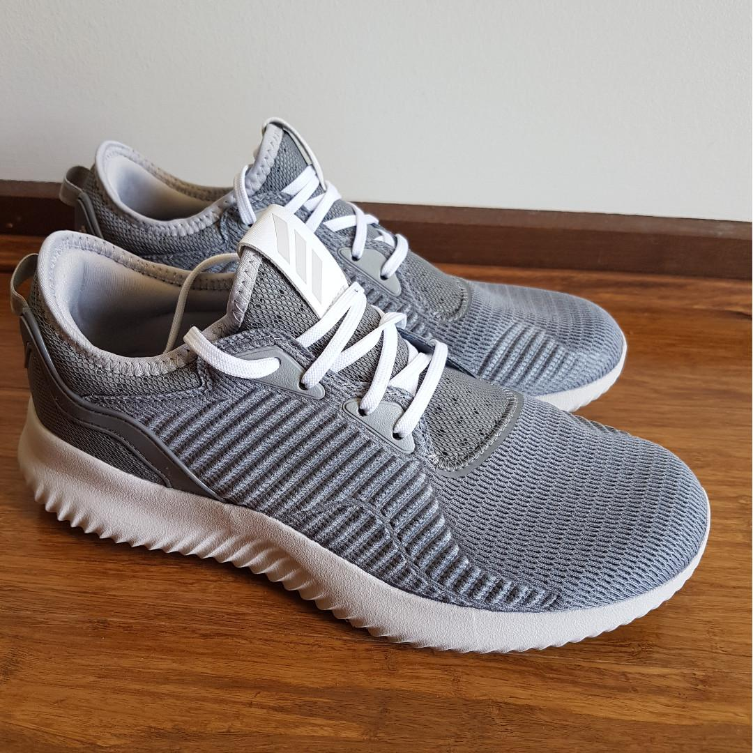 NEW Adidas Women Alphabounce Lux BW1216 Grey Bounce Running Shoes Gym US 8.5