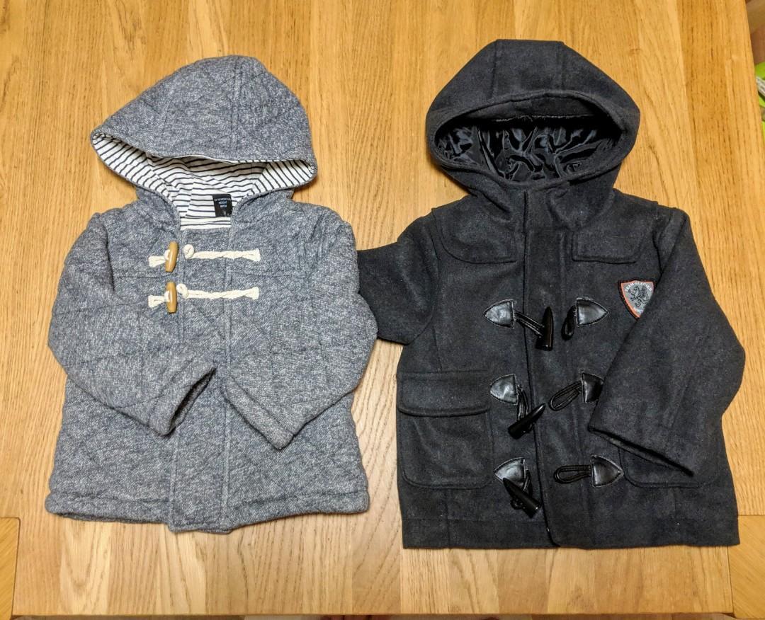 Next & Pumpkin Patch Boys Winter Jackets Size 1