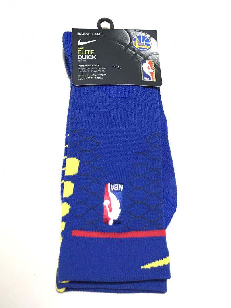 a60f60c5c330 Nike Elite Officials NBA Golden State Warriors City Editions Sock ...