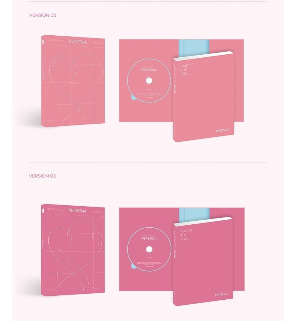 [READY STOCK] MAP OF SOUL : PERSONA BTS ALBUM