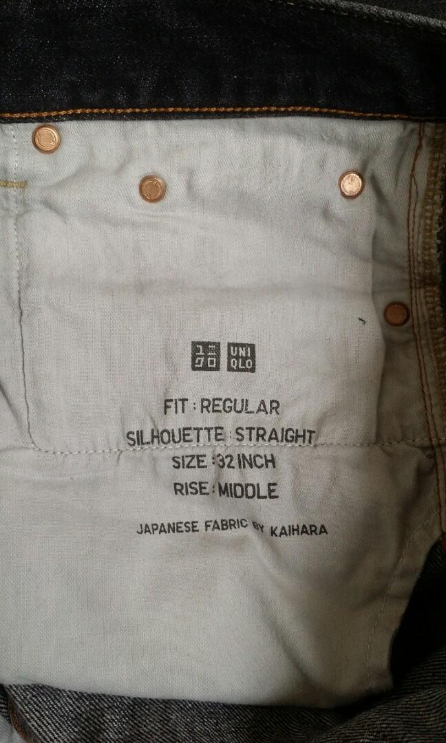 Preloved men jeans (uniqlo)