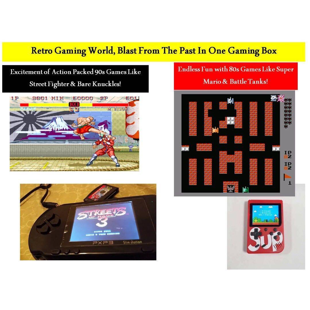 PSP Emulator PXP3 Slim Station Retro Portable Video Game