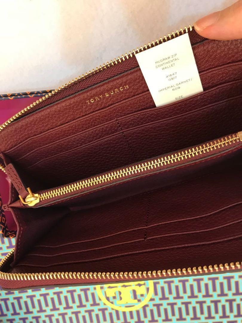 Ready Stock Tory Burch McGraw wallet purse