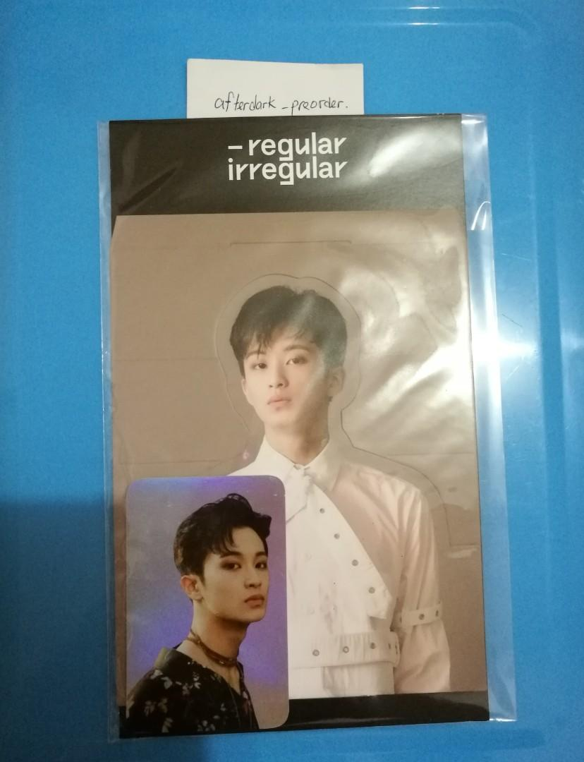 [Ready Stock]NCT127 Mark Hologram Photo card+Standee