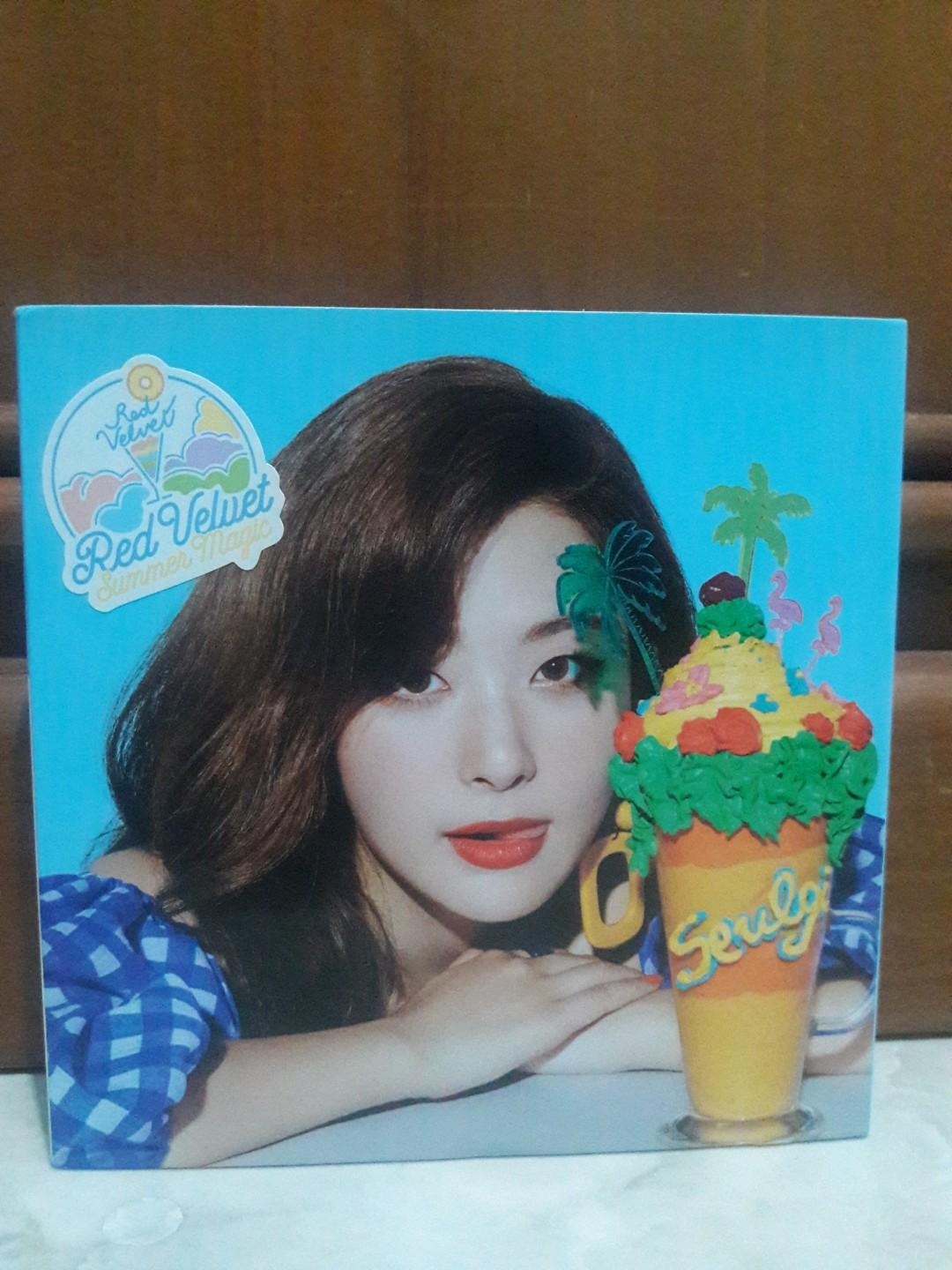 RED VELVET ALBUM SUMMER MAGIC SEULGI VERSION