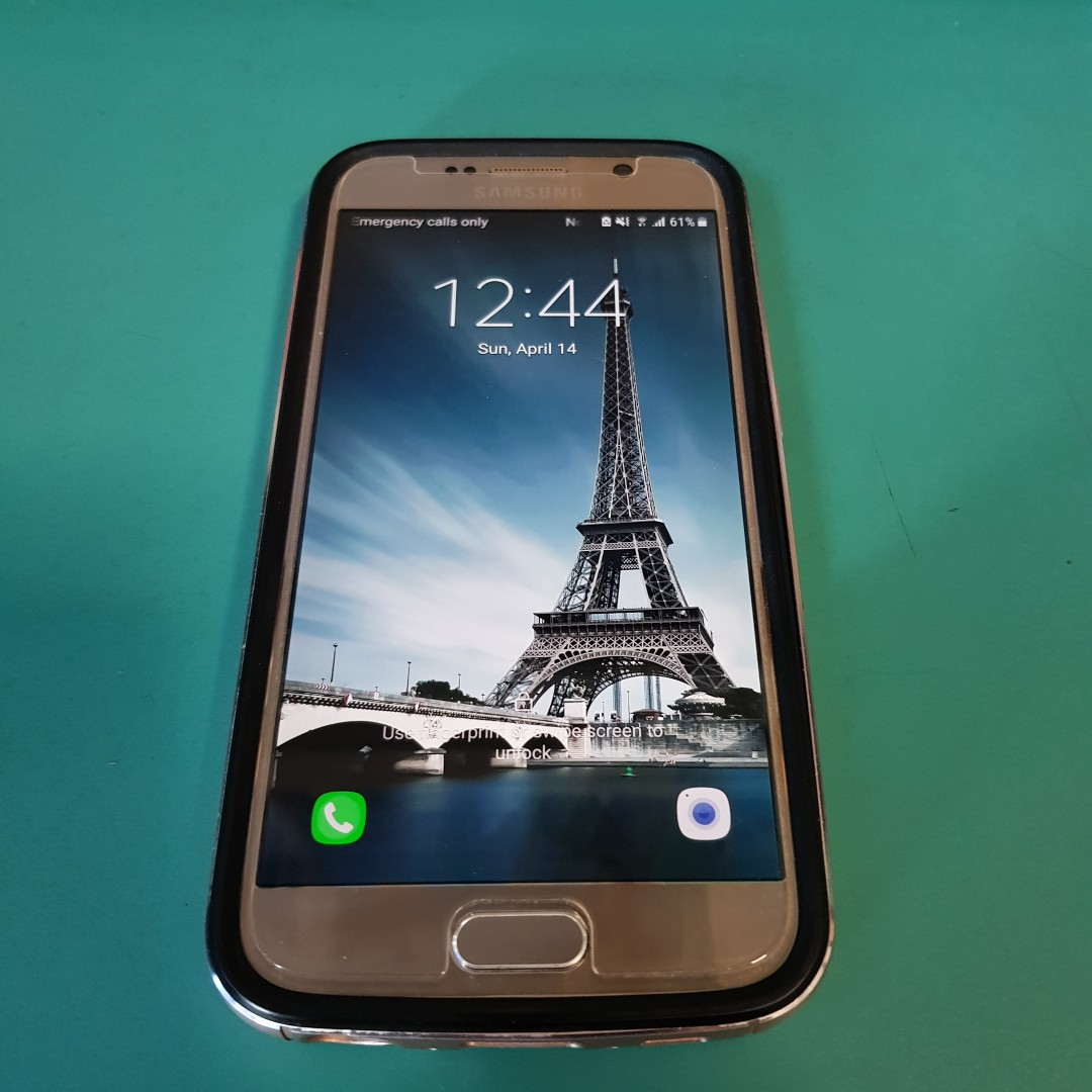 Samsung Galaxy S6 64gb (gold), Mobile Phones & Tablets