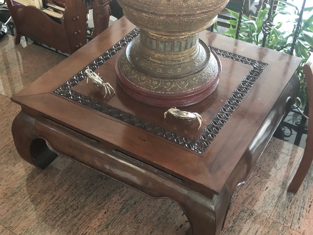 Small Indonesian Teak Coffee Table Furniture Tables Chairs On
