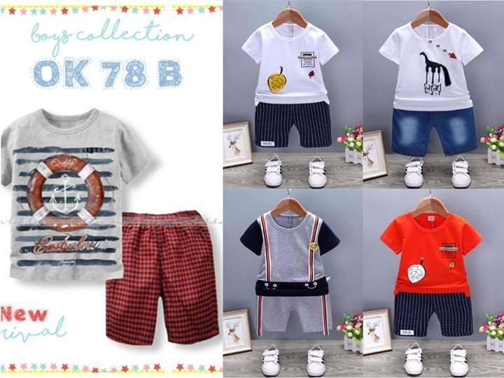 Stelan import baju anak