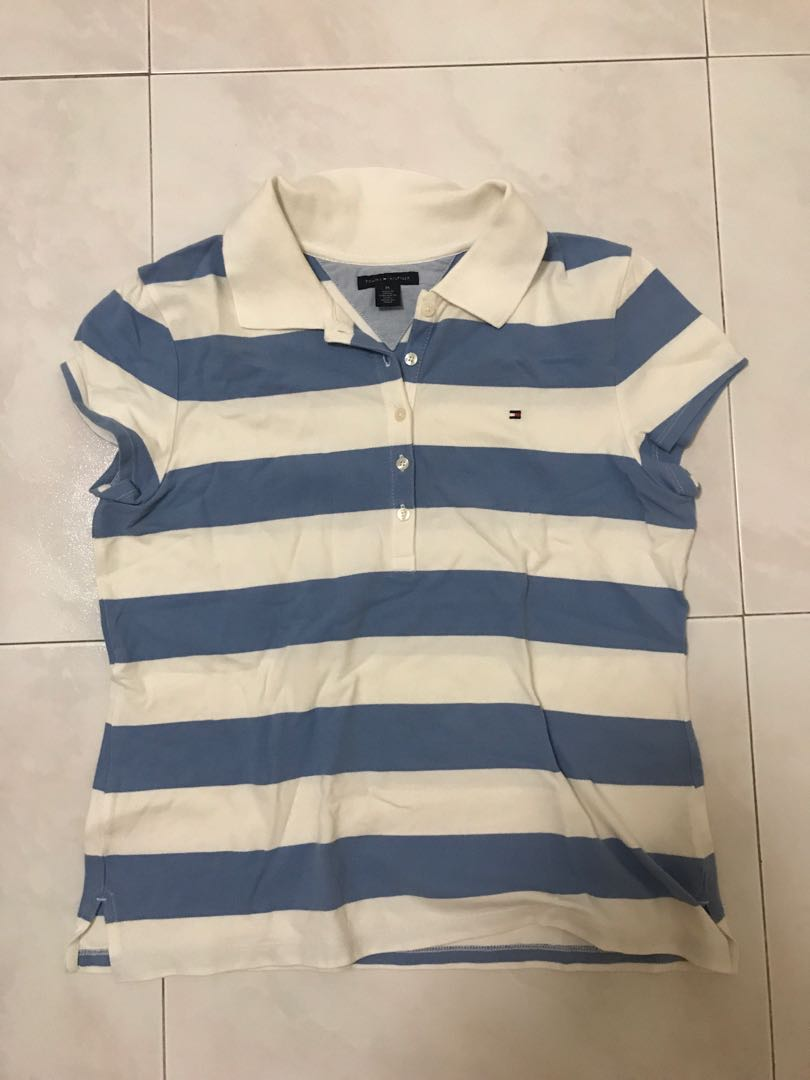 dbee02d2e tommy hilfiger polo tee authentic, Women's Fashion, Clothes, Tops on ...