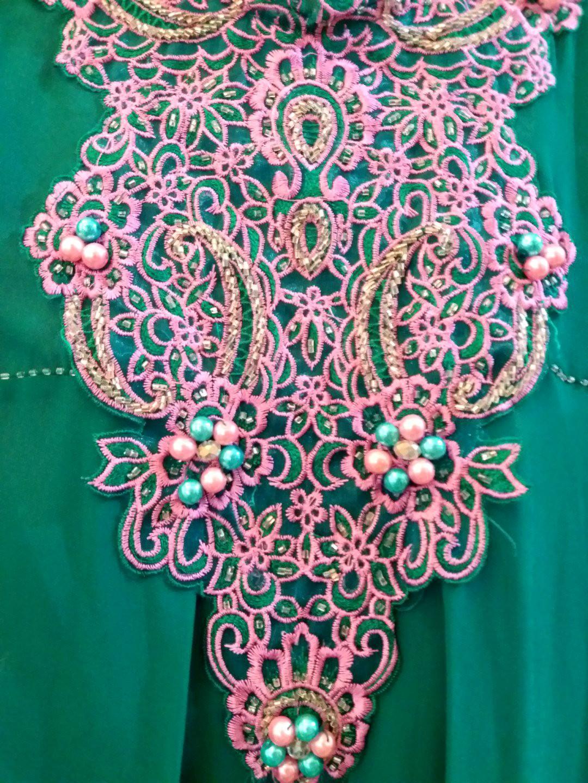 Tosca purple beads loose blouse