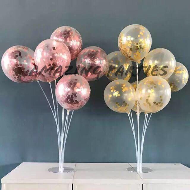 Transparent Balloon Stand #MRTCCK #MRTWoodlands #MRTJurongEast
