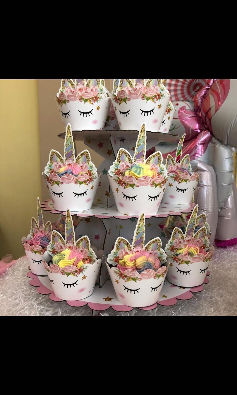 Unicorn Baby Shower Birthday Party Decorations Design Craft