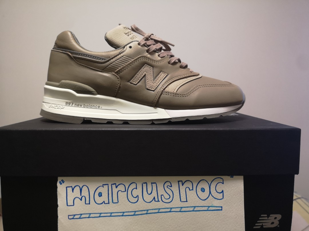 new style d9fb5 2bfd6 Us8.5 new balance 997 horween made in usa