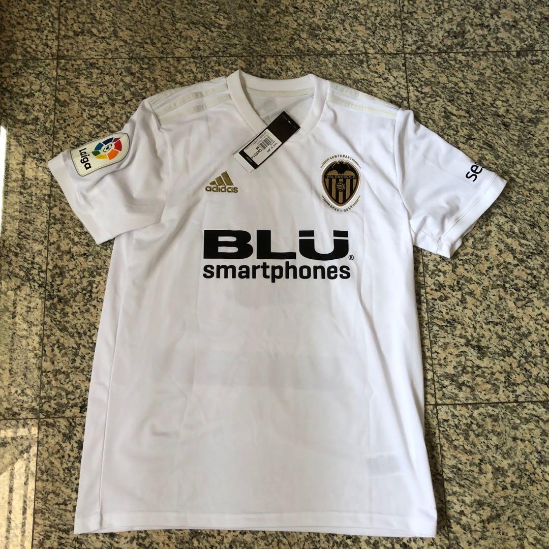 lowest price 7dd02 8f138 Valencia CF 2018/19 Home Jersey, Sports, Sports Apparel on ...