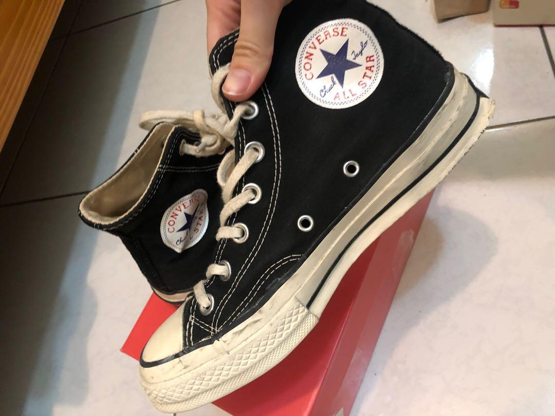 converse高筒 1970 帆布鞋 24cm