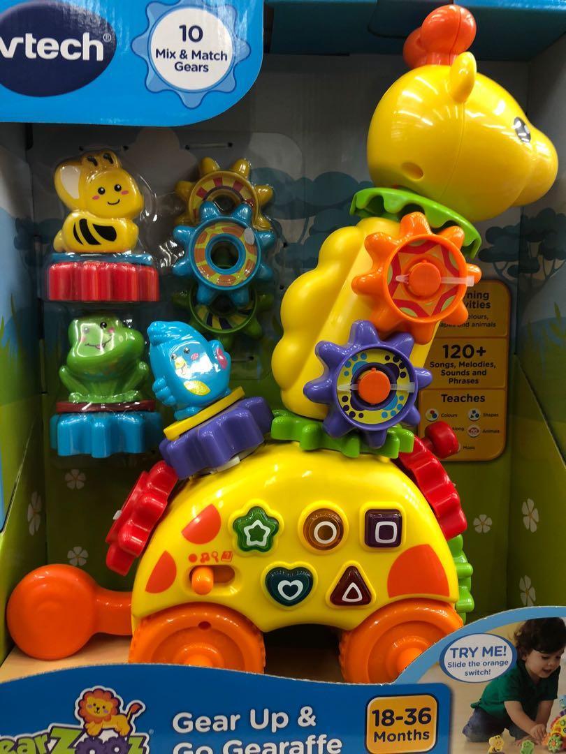Vtech 小童益智玩具長頸鹿車