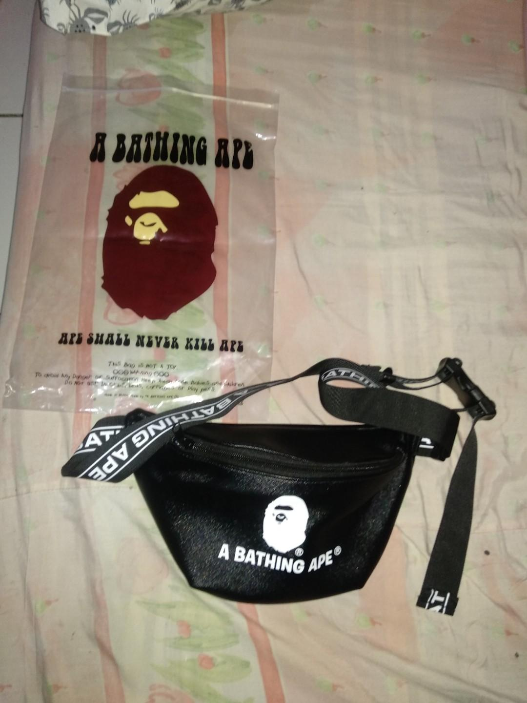 waist bag bape original