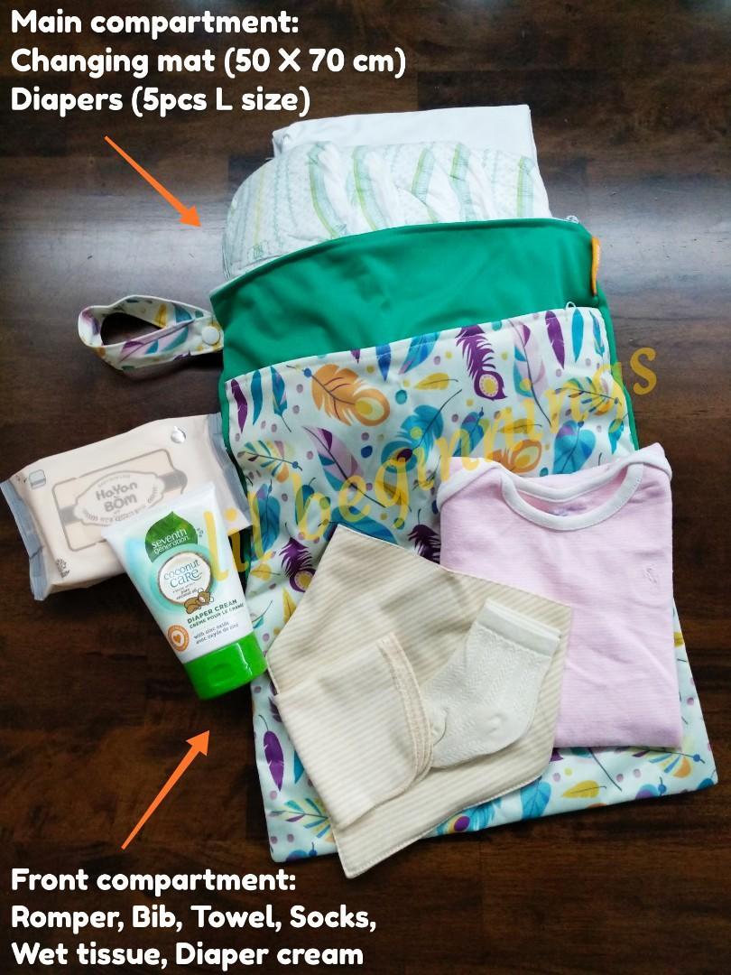 Waterproof Wet Bag (Swim, Diaper, Gym)