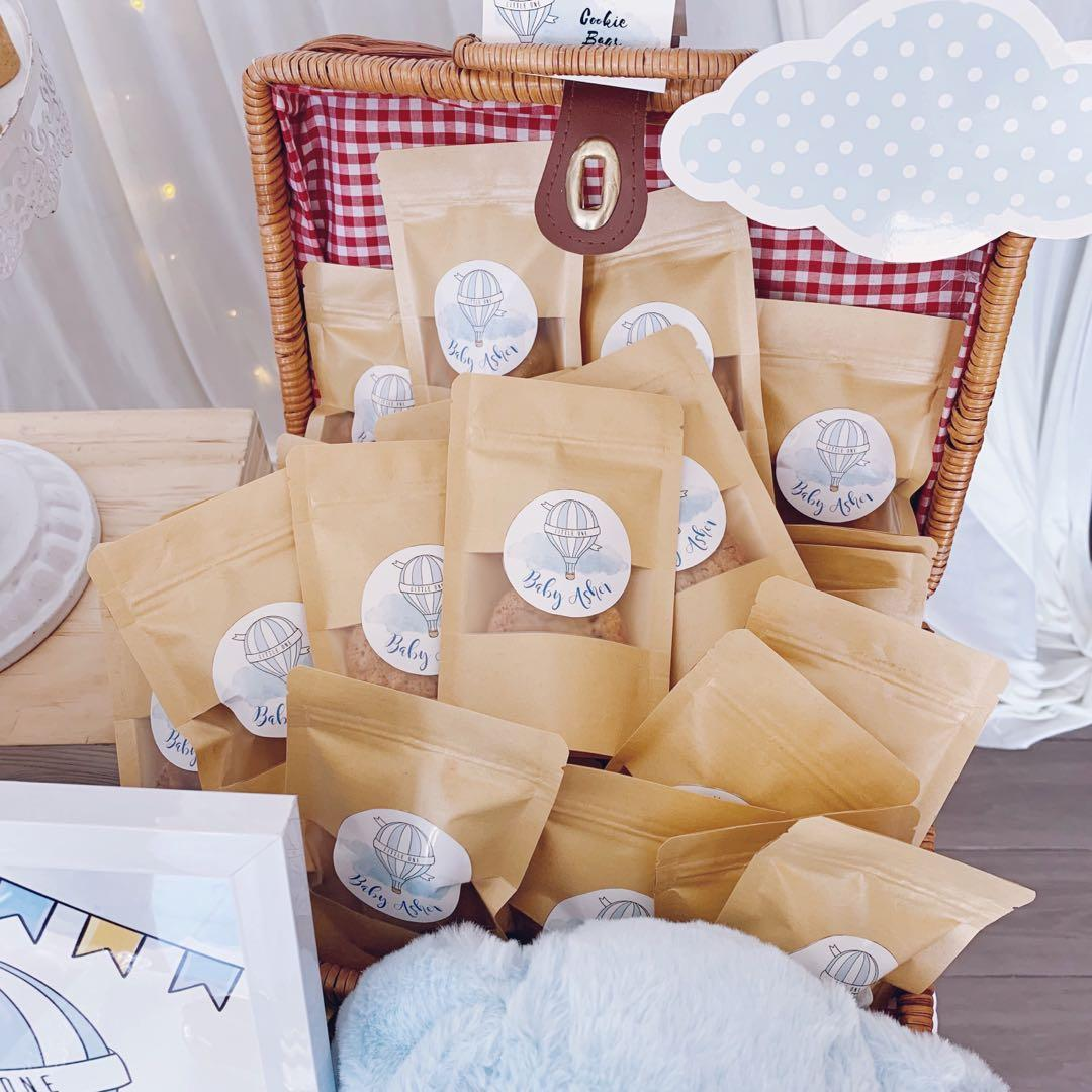 Wedding Favor Door Gifts Goodie Bags Food Drinks Baked Goods On Carousell