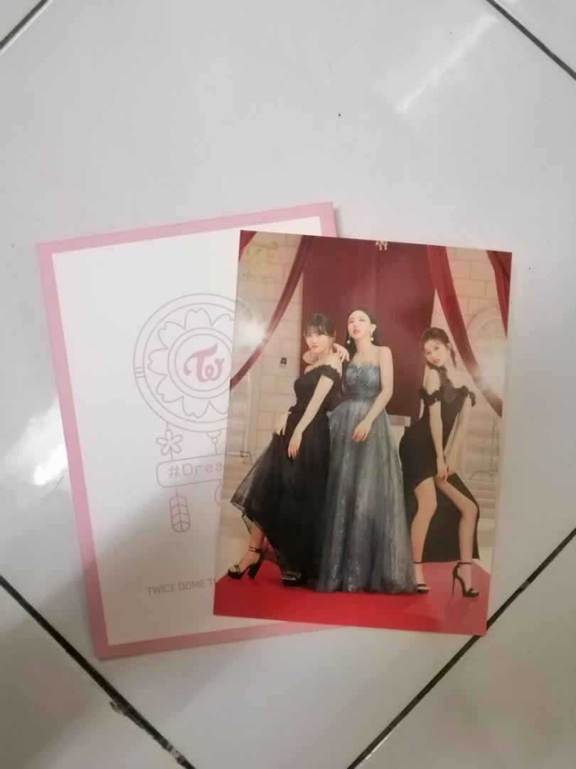 WTT Twice dome tour 2019 #dreamday trading photocard