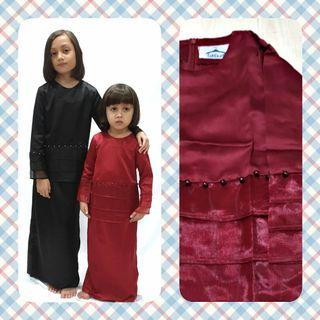 #KURUNG ORGANZA  #kurong #peplum #girls #kids #babies # hari raya #kebaya #mini kurung #tudung #songket #raya #jubah #malay #muslimah #cute clozet