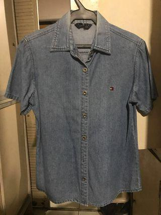 Denim Tommy Hilfiger Maong polo