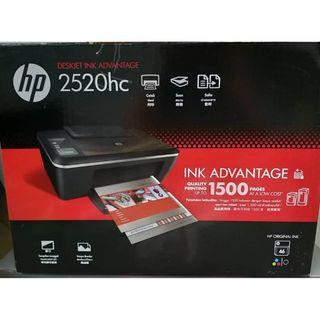 Hp 2520 hc printer and scanner