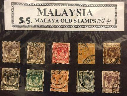 MALAYA OLD STAMPS STRAITS SETTLEMENTS