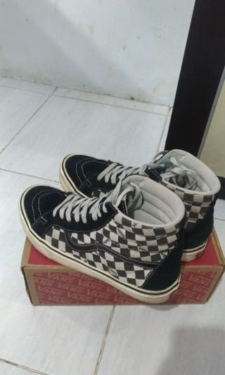 09bd2d39a3 VANS SK8 CHECKERBOARD ULTRACUSH JAPAN MARKET